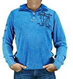 Camp David Pullover Troyer CCB-1808-4755 arcticblue Arctic Surf (L)