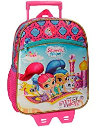 Shimmer & Shine Shimmer and Shine-Sac à dos double compartiment 38cm Shimmer and Shine Wish