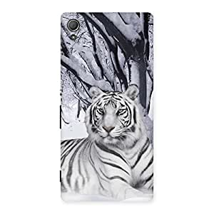 Special Snow Tiger Back Case Cover for Xperia Z3 Plus
