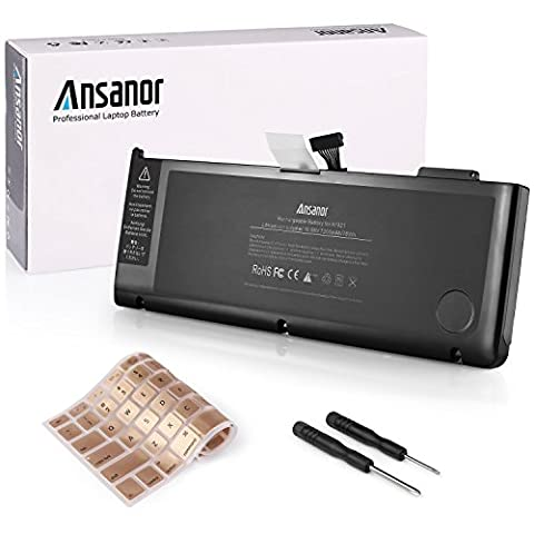ANSANOR® 7200mAh Ultra Hochleistung Neuer Akku für Apple MacBook Pro