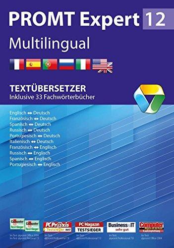 PROMTExpert 12 Multilingual: Textübersetzer - Inklusive 33 Fachwörterbücher
