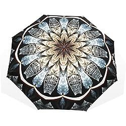 Paraguas con Mandala Grande