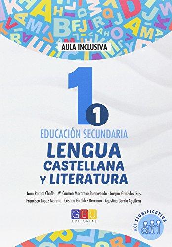 LENGUA CASTELLANA Y LITERATURA 1 SECUNDARIA ACI SIGNIFICATIVA