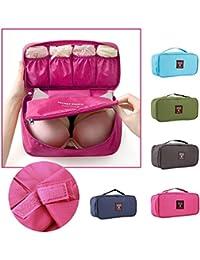 Multi Function Waterproof Women Girl Lady Portable Travel Bra Underwear Lingerie Organizer Bag Cosmetic Makeup...