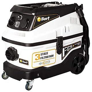 Bort Nass-Trockensauger BSS-1630-Premium Behältervolumen 30 l, 1600 W, Luftstrom 33 l/s, Saugleistung 19 kpa, Saugschlauch 32 mm, Aqua-Filter, Blasfunktion, Gerätesteckdose, Saugleistungseinstellung