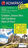 libro Carta escursionistica n. 076. Val Gardena-Alpe de Siusi 1:25.000. Adatto a GPS. Digital map. DVD-ROM