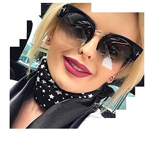The London Store Fashionable Black Shaded New Semi...