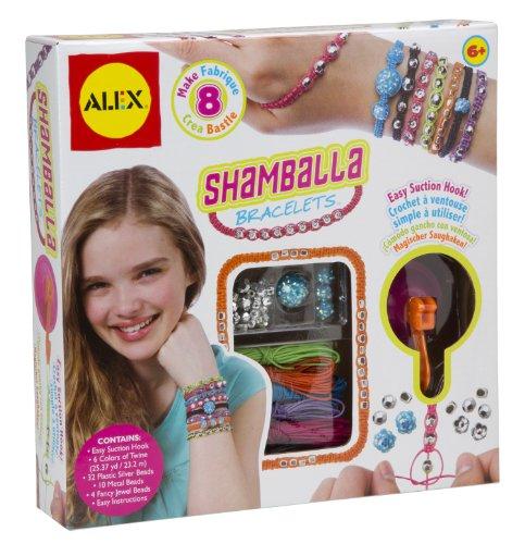 Alex 734S - Shamballa-Armbänder - Schmuck-set Spielen Mädchen