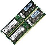 HP-Compaq 4GB (2x2GB) DDR-400 Memory RAM Upgrade HP-Compaq Blade Series Desktop