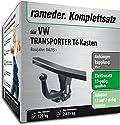 RAMEDER Komplettsatz, Anhängerkupplung starr + 13pol Elektrik für VW TRANSPORTER T6 Kasten (112606-14351-1)