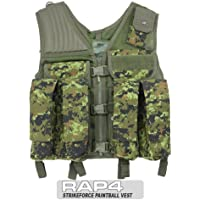 USMG Strikeforce Camo Tactical Vest Designed for Paintball and Airsoft