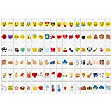 Aibecy 108pcs Symboles et Emojis Colorées pour Lightbox A4 Symboles Interchangeable de Boîtes Lumineuses Cinéma Signature