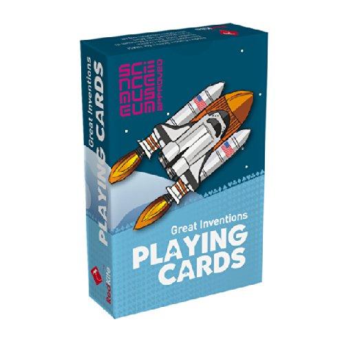 Science Museum Große Erfindungen Spielkarten 6 + (Museum Board)