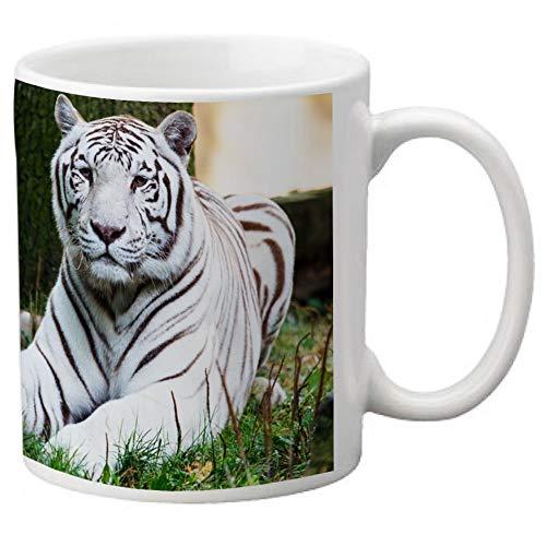 Mug Tigre Blanc - Kadomania