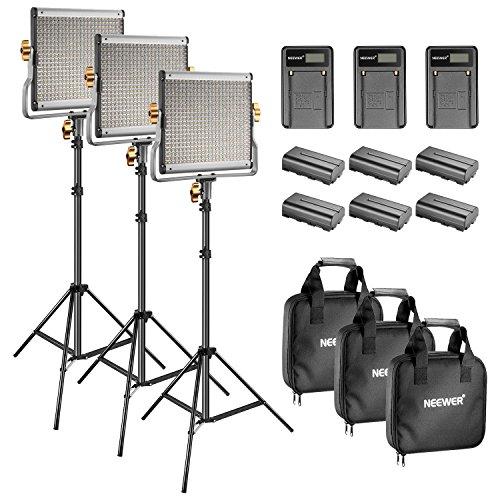 Neewer Bi-Farbe LED 480 Video Licht und