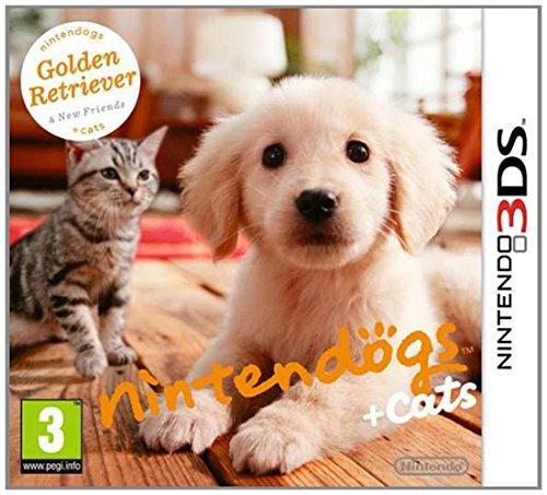 Nintendo nintendogs + cats: Golden Retriever & New Friends, 3DS