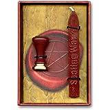 Coffret sello sello mágico con cera rojo 12x 8,5cm