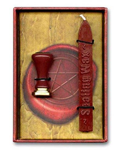 JapanAttitude Set Siegel Cachet Magische mit Wachs Rot -