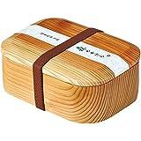 Japonmania - Boite à bento en bois laqué - Naturel