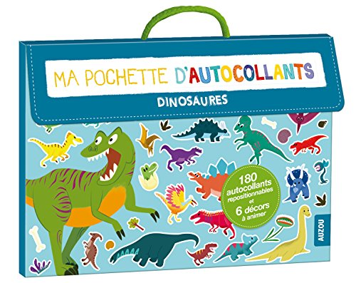 ma pochette d'autocollants - dinosaures (coll. ma pochette d'artiste)