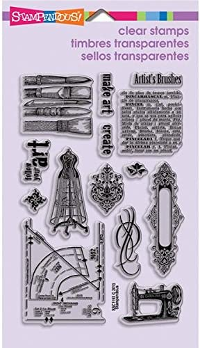 Stampendous Perfectly Clear Clear Clear Stamps 4 X6  Sheet-Charmed Art | elegante