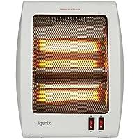 Igenix IG9508 Portable 2 Bar Quartz Halogen Heater 800 W - White