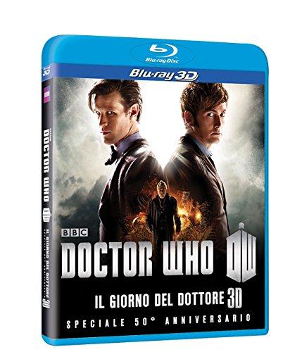 Preisvergleich Produktbild Doctor Who - Il giorno del Dottore (3D) (50' anniversario) [Blu-ray] [IT Import]