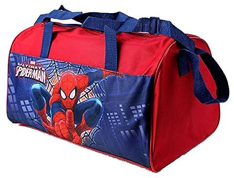 Marvel Spiderman Sac de sport, rouge (Rouge) - 600-193