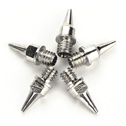 Düse Ersatz für Airbrush 5pcs 0,2/0,3/0,5 mm Airbrush Düse Zubehör Malerei Maschine Schwerkraft Feed Teil(0.2mm) -