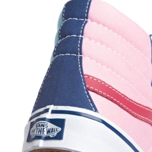 Vans U Sk8-Hi Slim, Bottes Classiques mixte adulte bleu rose