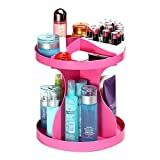 #7: Evana 360 Degree Rotatable Cosmetics Plastic Makeup Storage Two Layer Multifunctional Makeup Cosmetic Organizer