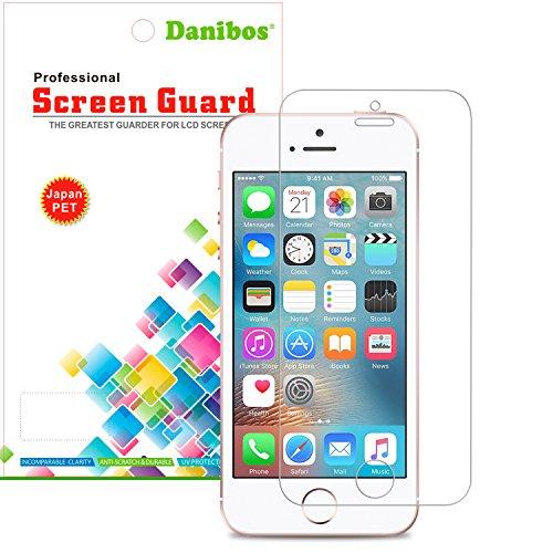 iPhone SE schutzfolie, Danibos 2 x VORDERseite & 2 x RÜCKseite Displayschutzfolie iPhone SE Folie deckt gesamte Front & Edges ab (iPhone SE) - 4