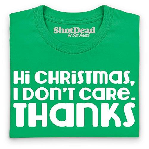 Hi Christmas T-Shirt, Damen Keltisch-Grn