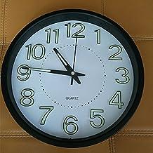 horloge murale lumineuse