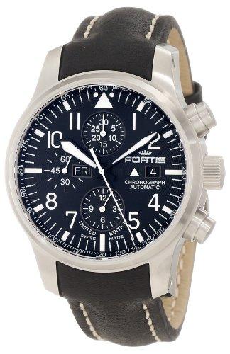 Montre Fortis - Affichage bracelet Cuir et Cadran 701.10.81 L.01