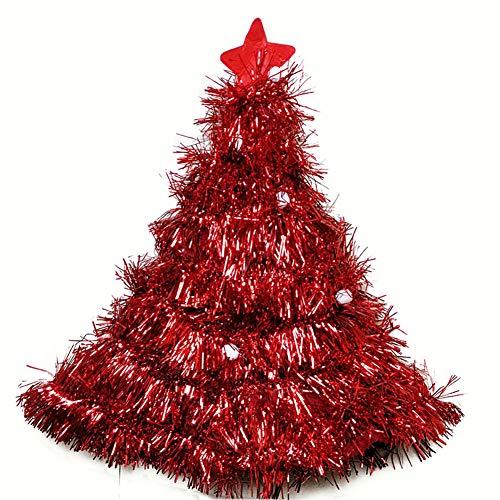 Domire 1 Pc 16.1 * 1.5 Inchs Non-Woven Stoff Bunte Weihnachtsparty Verkleiden Props Hat Festival Zubehör Partyangebot (Rot) (Non Pc Kostüm)