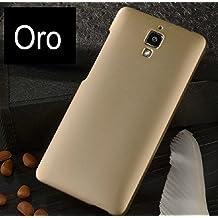 Prevoa ® 丨Funda Carcasa Gel para Xiaomi 4 M4 Mi4 Smartphone -Oro