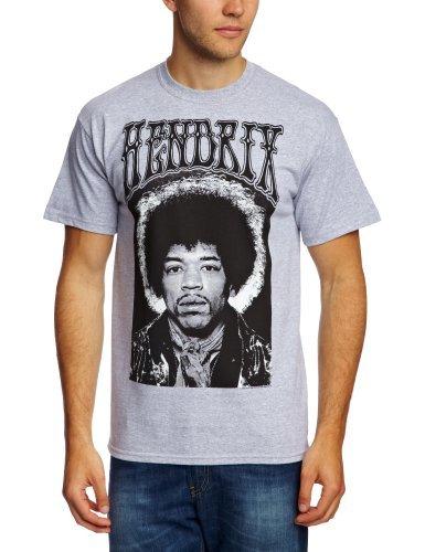 Jimi Hendrix - - Hommes Halo T-shirt En Heather Grey, Medium, Heather Grey