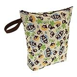 Swaddlebees Diaper Wet Bags Monkeys