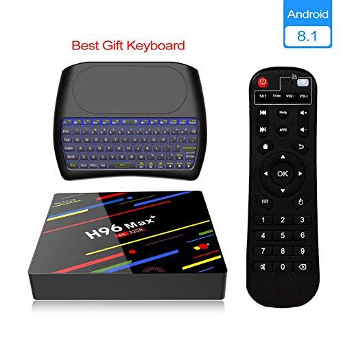 Android 8.1 TV BOX, Android Box con Tastiera...