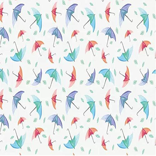 YiShuQiang - Papel pintado para pared, diseño de paraguas, pasillos, salones, dormitorios