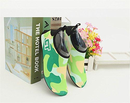 Run l Nadando De Crianças Para Sapatos Descalços Aqua Praia Surf Água Com Meias Verde Piscina De Yoga Pés Os rrwSdE