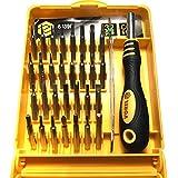 VOREL 64396 - puntas de destornillador de precisión y 32pcs del sostenedor de bits