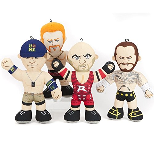 18-assorted-wwe-superstars-licensed-soft-plush-toy-wrestling-buddies-characters