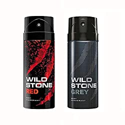 Wild Stone Red And Grey Deodorant For Men (150 ML)