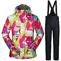 TOOGOU Damen Ski Jacke und Hose Winter Outdoor Jacke Snowboard Ski Mantel Snow Wear
