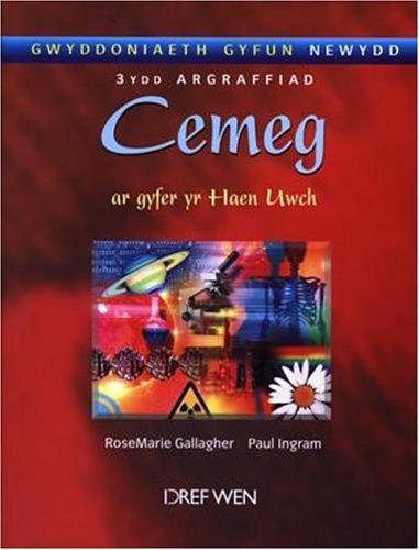 Gwyddoniaeth Gyfun Newydd: Cemeg Ar Gyfer Yr Haen Uwch by RoseMarie Gallagher (2004-11-16)