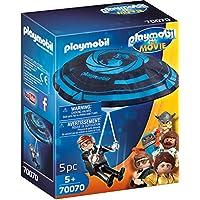 Playmobil - THE MOVIE Rex Dasher con Paracaídas 70070