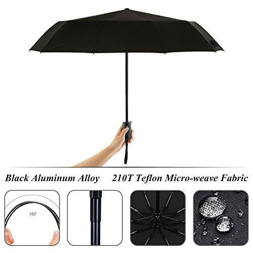 Zoom IMG-1 cuxus ombrello portatile automatico antivento