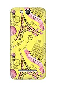Zapcase Printed Back Case For Micromax Juice 3 Plus Q394